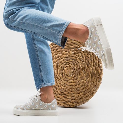 Pantofi Sport Ferzio Bej - Incaltaminte sport dama -
