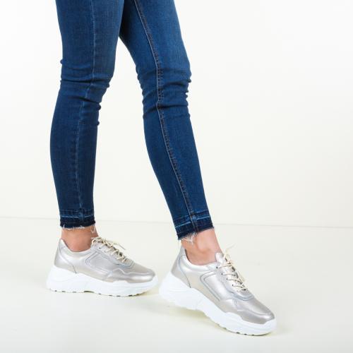 Pantofi Sport Hakim Aurii - Incaltaminte sport dama -
