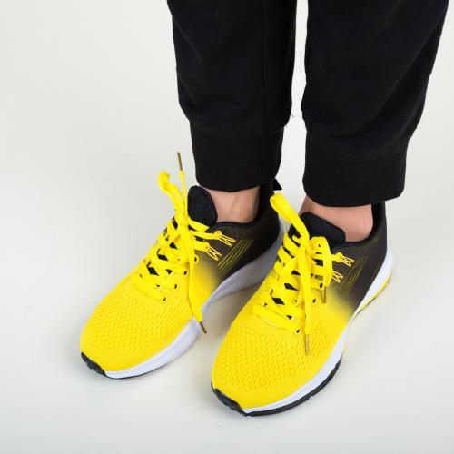Pantofi Sport Honor Galbeni - Incaltaminte sport dama -