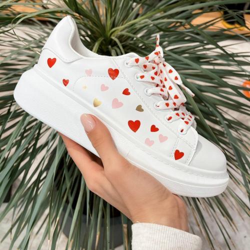 Pantofi Sport Loove Albi - Incaltaminte sport dama -