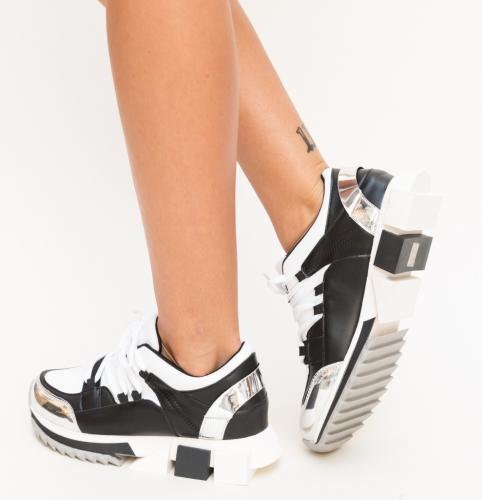 Pantofi Sport Luhi Albi - Incaltaminte sport dama -