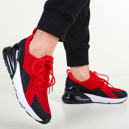 Pantofi Sport Maxim Rosii - Incaltaminte sport dama -