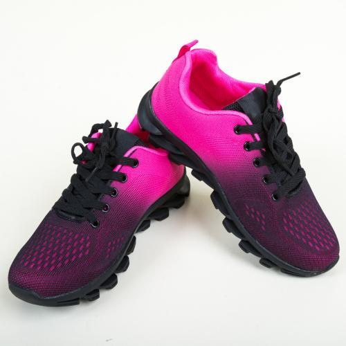 Pantofi Sport Moran Fuchsia - Incaltaminte sport dama -