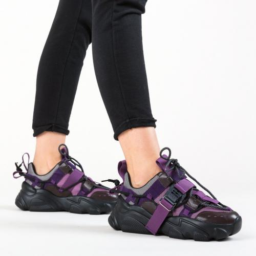 Pantofi Sport Morrigan Mov - Incaltaminte sport dama -
