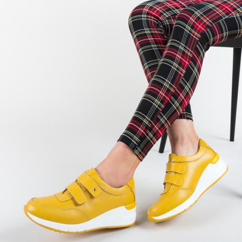 Pantofi Sport Sonya Galbeni - Incaltaminte sport dama -