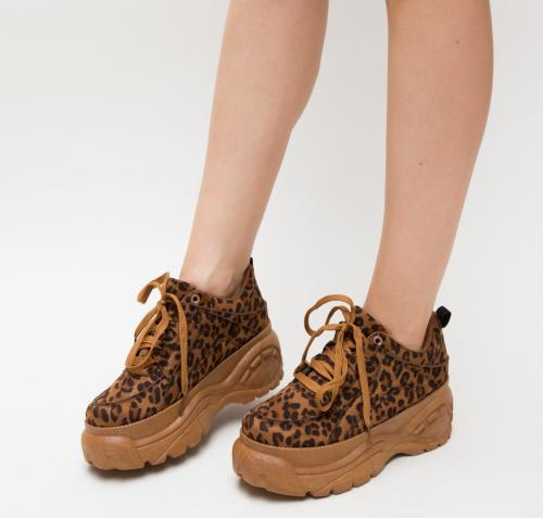 Pantofi Sport Stalin Leopard - Incaltaminte sport dama -