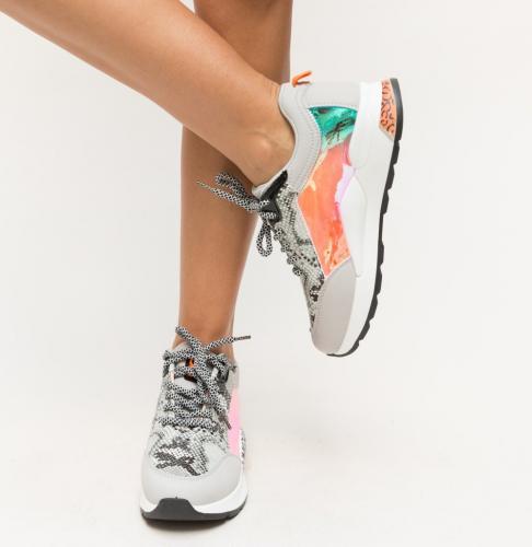 Pantofi Sport Stalon Gri - Incaltaminte sport dama -