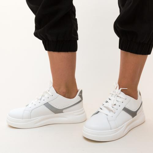 Pantofi Sport Stokes Gri - Incaltaminte sport dama -