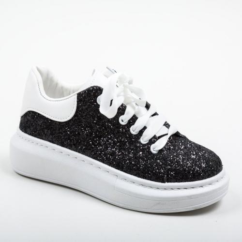 Pantofi Sport Stones Negri - Incaltaminte sport dama -