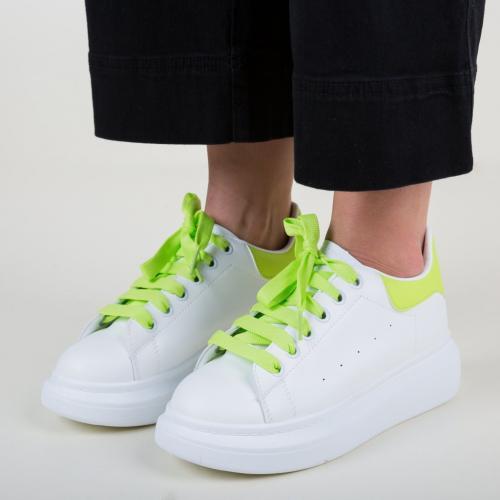 Pantofi Sport Tomyo Verzi - Incaltaminte sport dama -