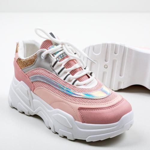 Pantofi Sport Watt Roz - Incaltaminte sport dama -