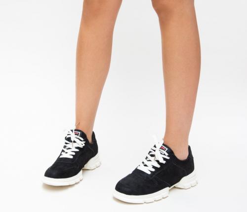 Pantofi Sport Zonia Negri 2 - Incaltaminte sport dama -
