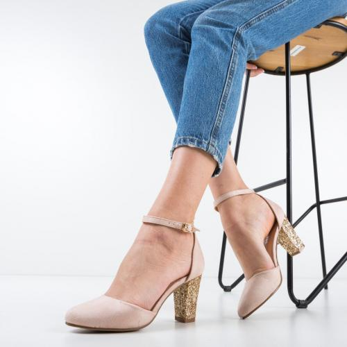 Pantofi Terpopa Bej 2 - Pantofi eleganti -