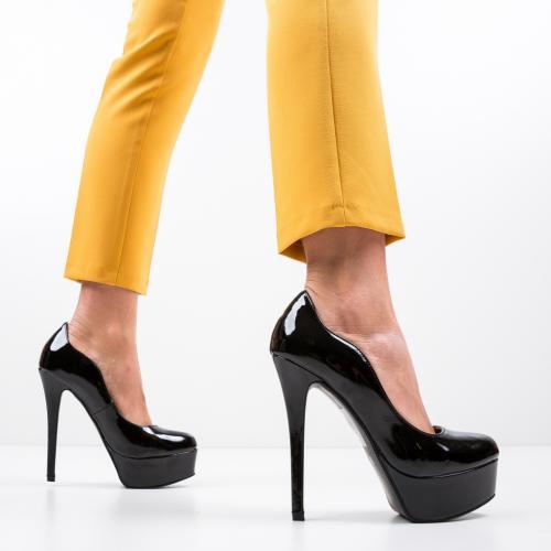 Pantofi Vinso Negri - Pantofi eleganti -