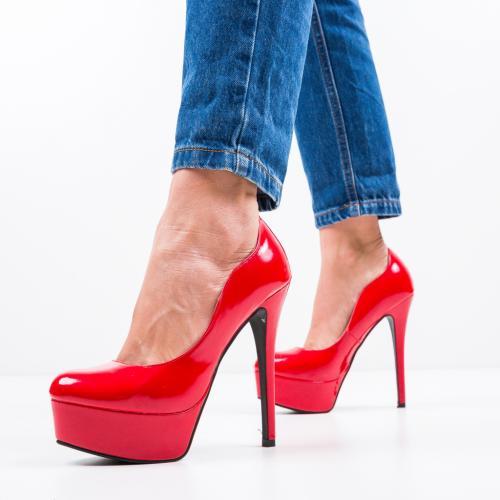 Pantofi Vinso Rosii - Pantofi eleganti -