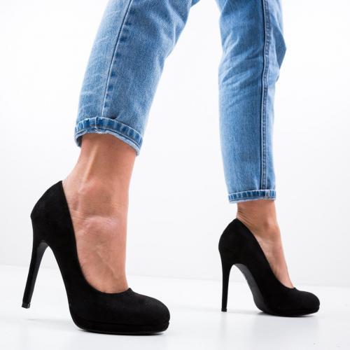 Pantofi Zamor Negri - Pantofi eleganti -