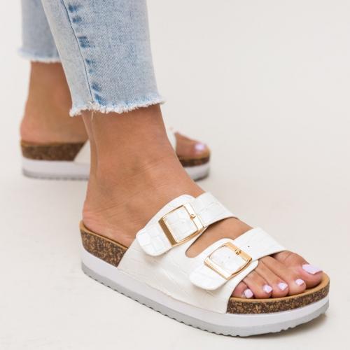 Papuci Aly Albi - Sandale dama ieftine - Slapi