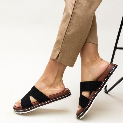 Papuci Greig Negri - Sandale dama ieftine - Slapi