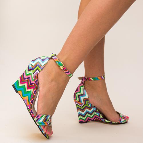 Platforme Rafana Multi - Sandale dama ieftine - Sandale cu platforma