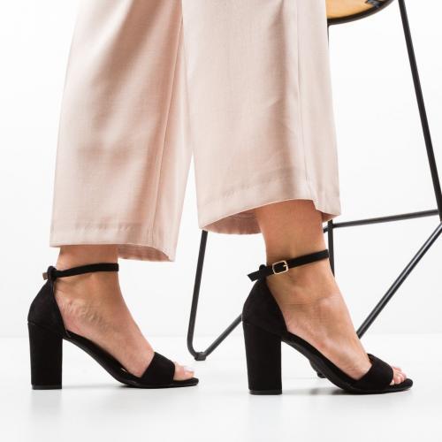 Sandale Camron Negri - Sandale dama ieftine - Sandale cu toc