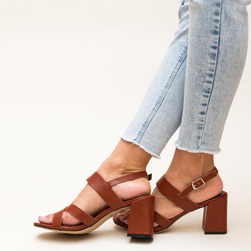 Sandale Carpatien Grena - Sandale dama ieftine - Sandale cu toc gros