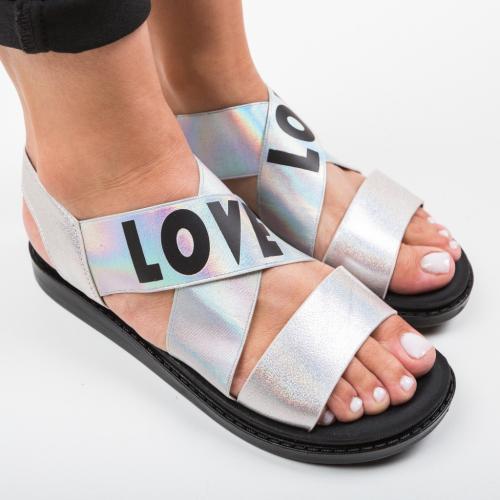 Sandale Lovers Roz 2 - Sandale dama ieftine - Sandale fara toc