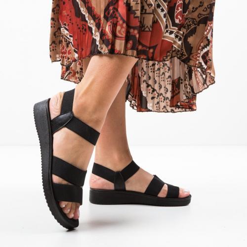 Sandale Rinda Negri 2 - Sandale dama ieftine - Sandale fara toc