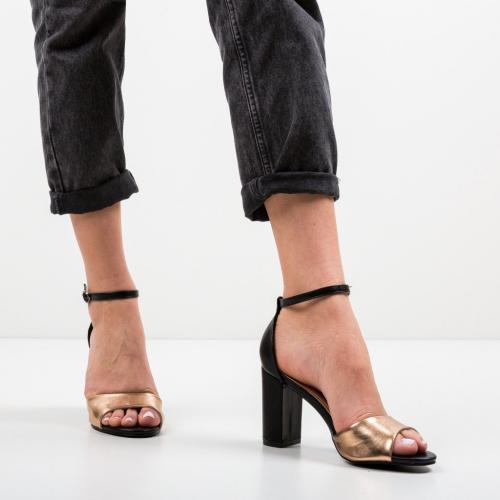 Sandale Yvie Aurii - Sandale dama ieftine - Sandale cu toc