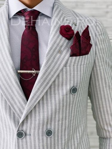 Set cravata + batista A5667 - Cadouri barbati - Batiste sacouri