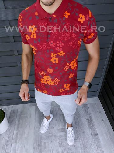 Tricou barbati polo slim fit ZR A5361 51-12 - Tricouri barbati -