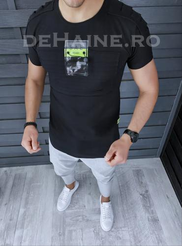 Tricou barbati slim fit ZR A9306 P16-1 - Tricouri barbati -