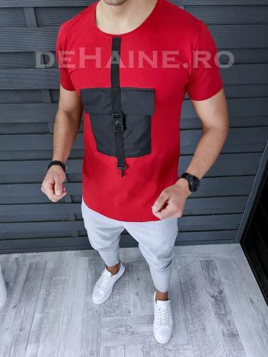 Tricou barbati slim fit ZR A9320 X1 - Tricouri barbati -