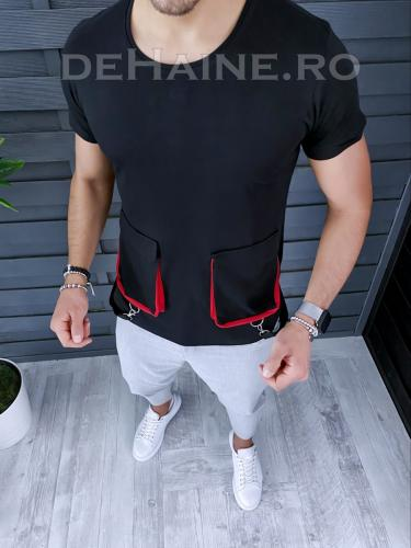 Tricou barbati slim fit ZR A9416 47-13 - Tricouri barbati -