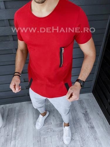 Tricou barbati slim fit ZR A9587 P15-2 - Tricouri barbati -